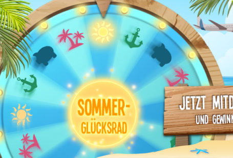 Sommer Cashback Glücksrad