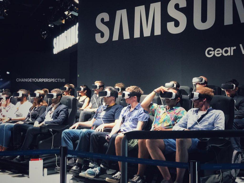 Die vrexperience bei samsungmobilede auf der Gamescom2017 in Kln hellip