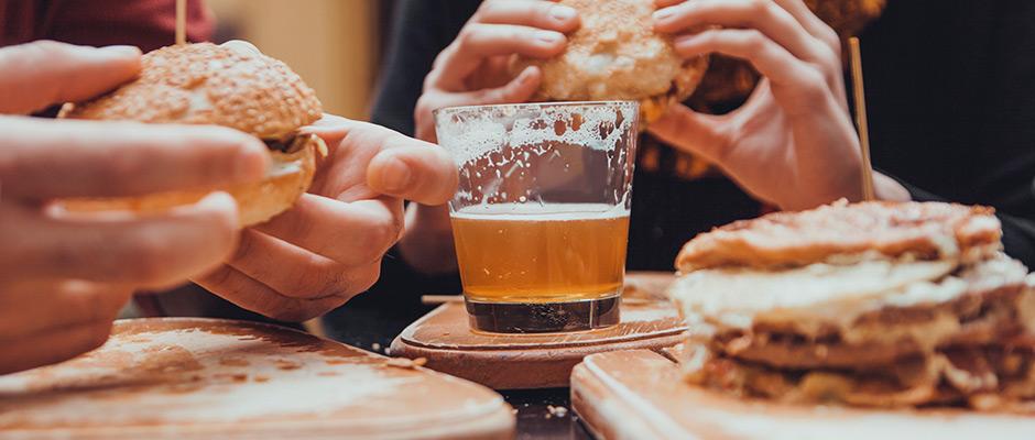 Craft Bier und Burger