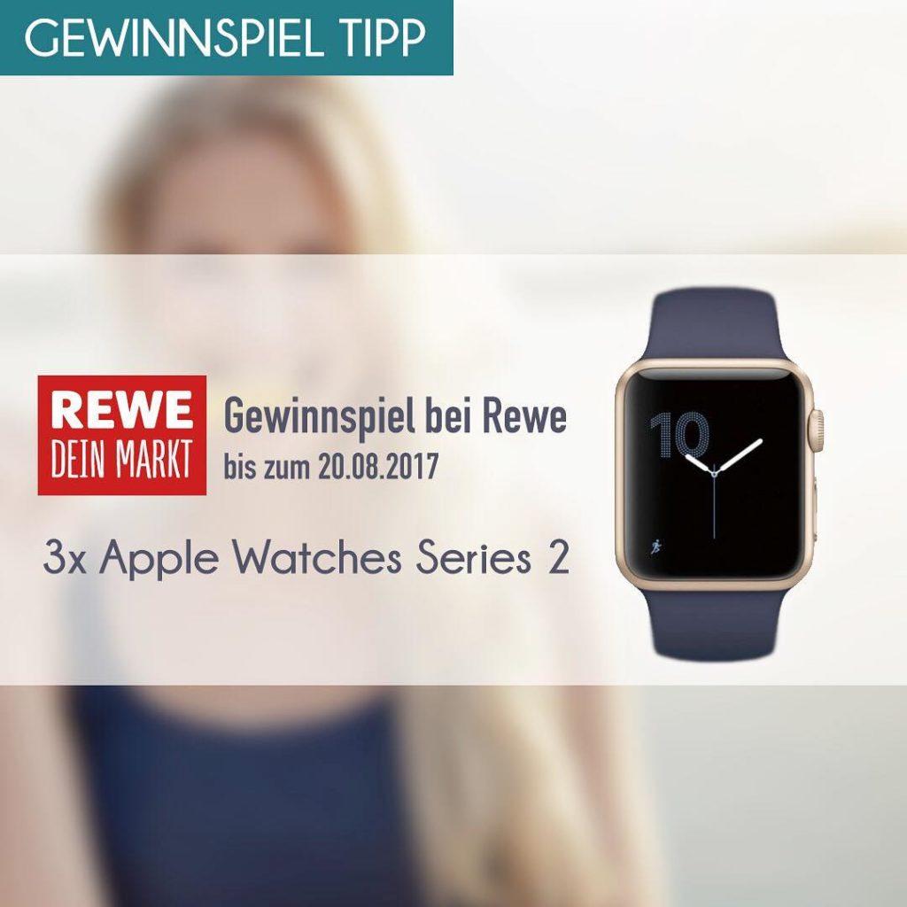 Gewinnspieltipp Unser Partnershop rewe und Sensodyne verlosen 3x applewatch2 hellip