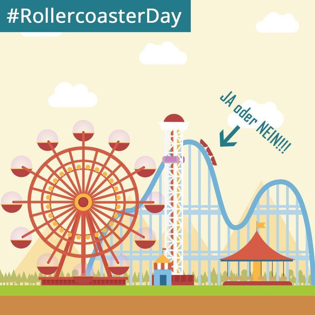 Heute ist RollercoasterDay  Seit ihr der HherSchneller oder derhellip