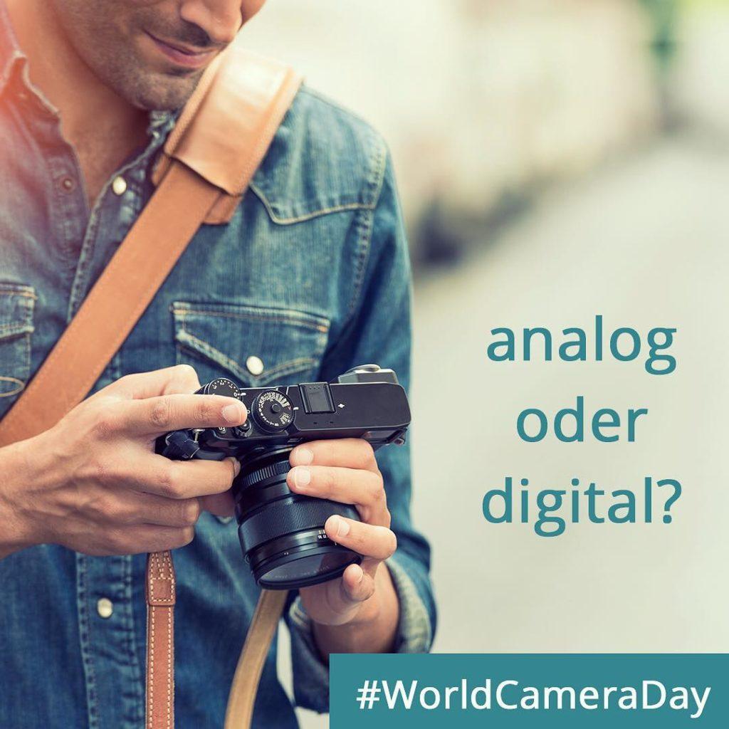Heute ist WorldCameraDay  Seit ihr mit analog oder digitalhellip