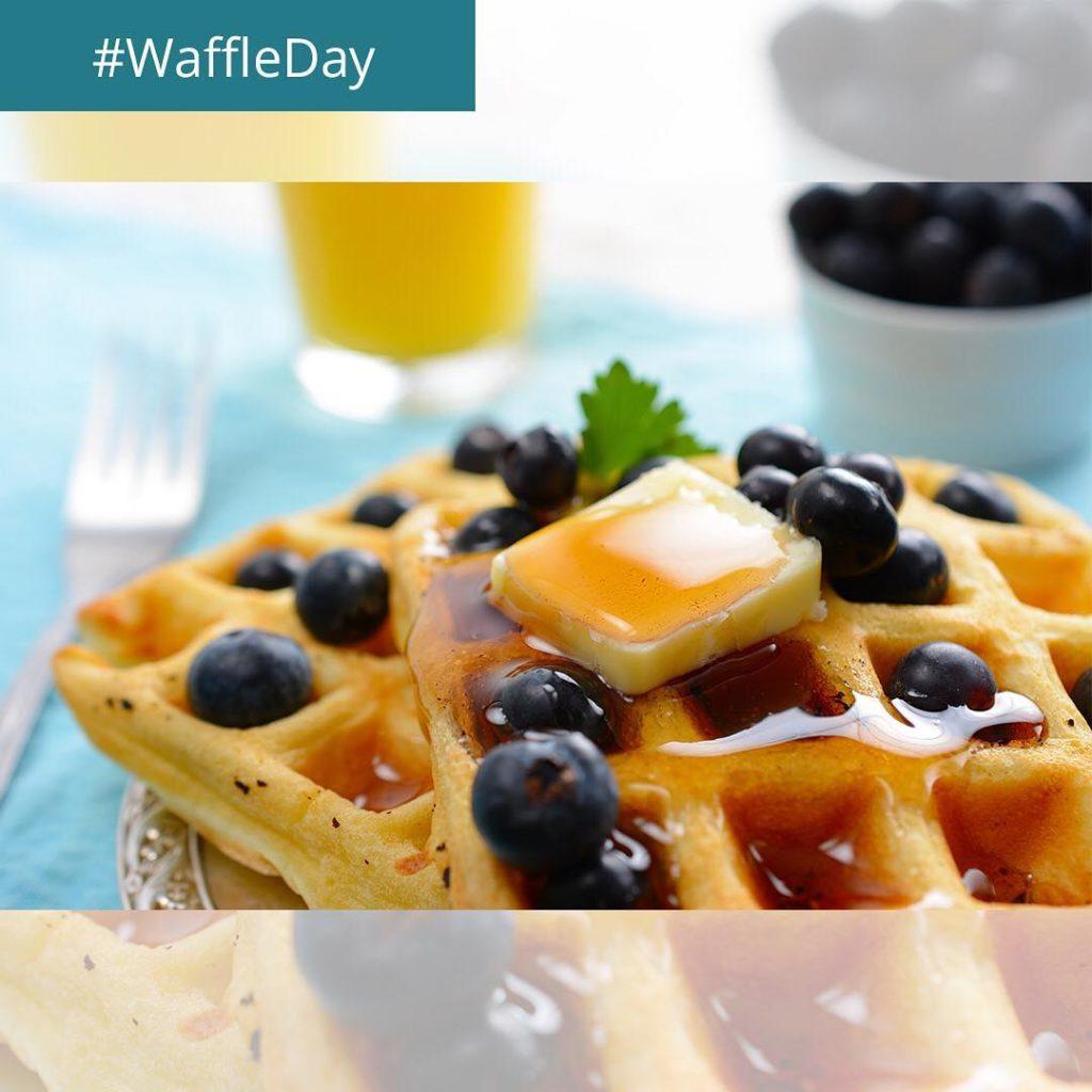 Heute ist der WaffleDay  natrlich steht dieser kuriose Feiertaghellip