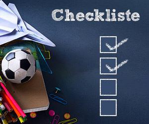 Checkliste für die Schule