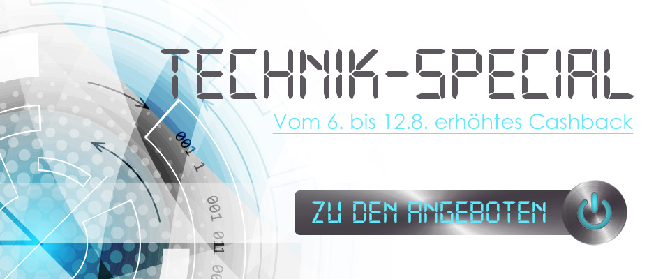 Technik-Special bei rewardo
