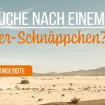 Frühbucher-Schnäppchen bei rewardo